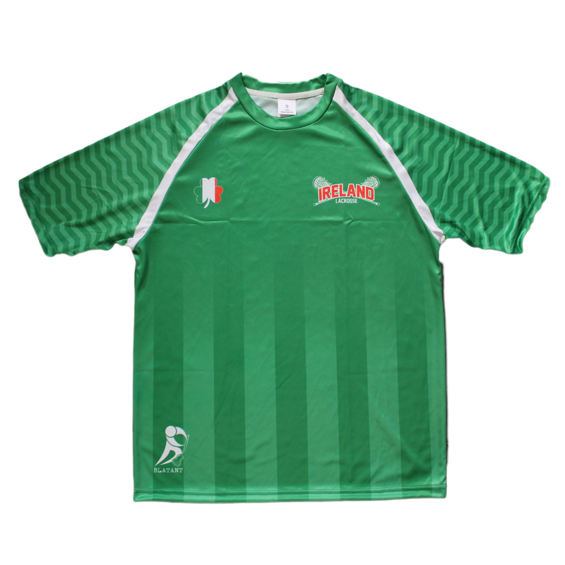 Heritage Collection: Ireland Lacrosse Shooting Shirt