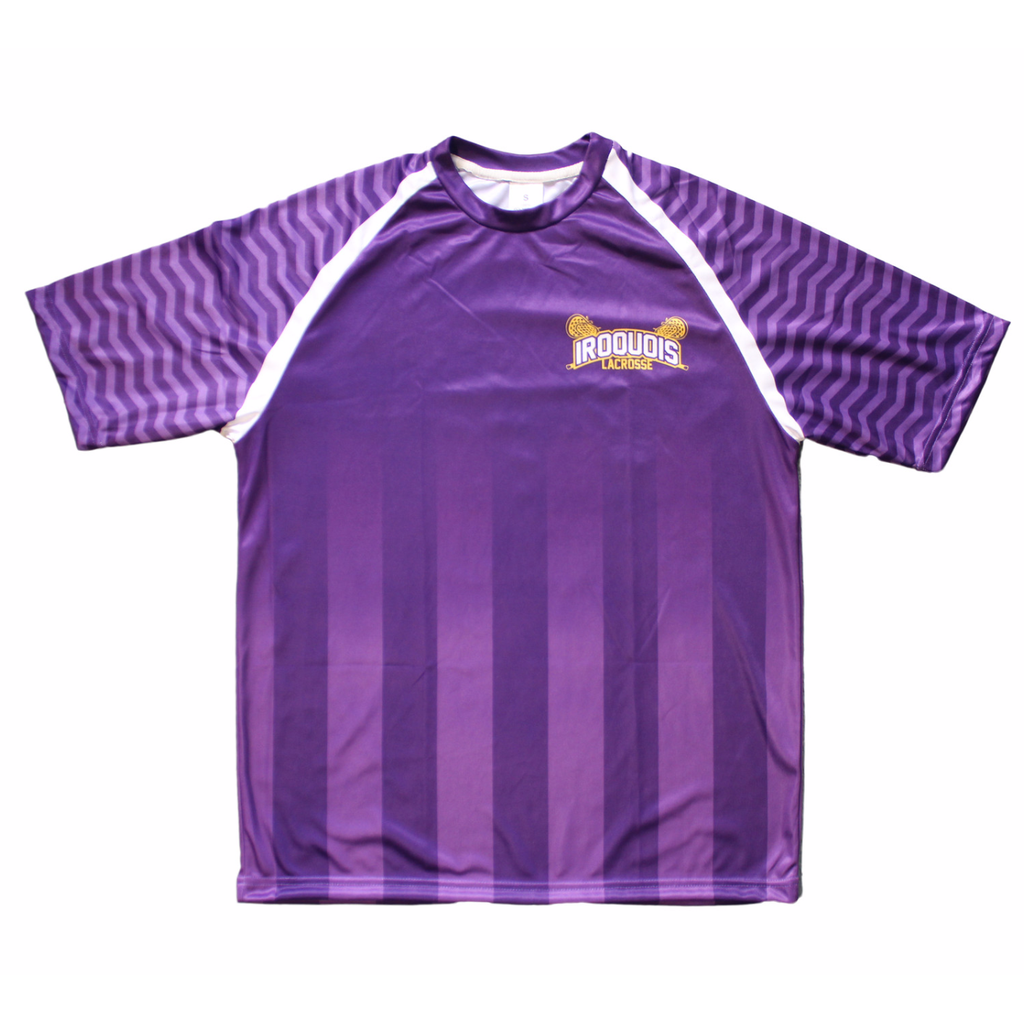 Heritage Collection: Iroquois Lacrosse Shooting Shirt