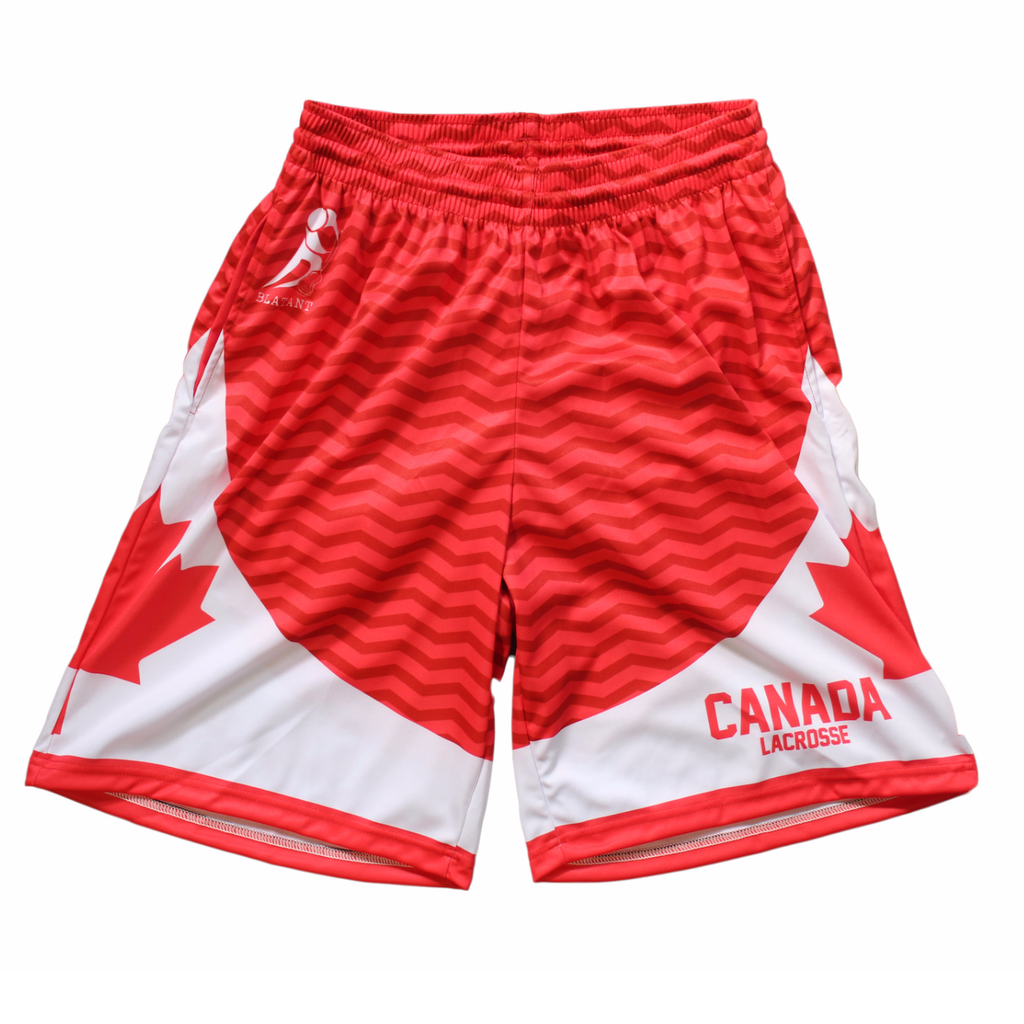 Heritage Collection: Canada Lacrosse Shorts