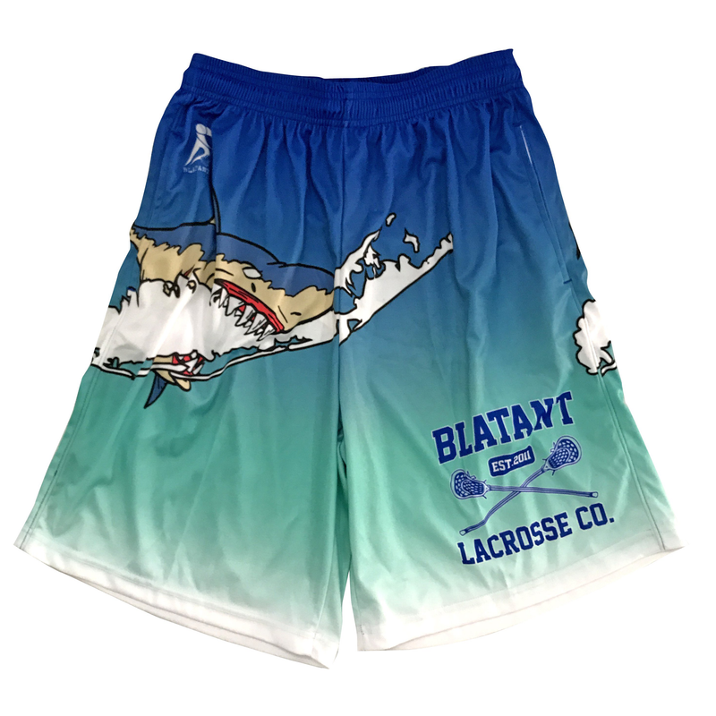 Lacrosse Shorts Nautical Collection: The Shark