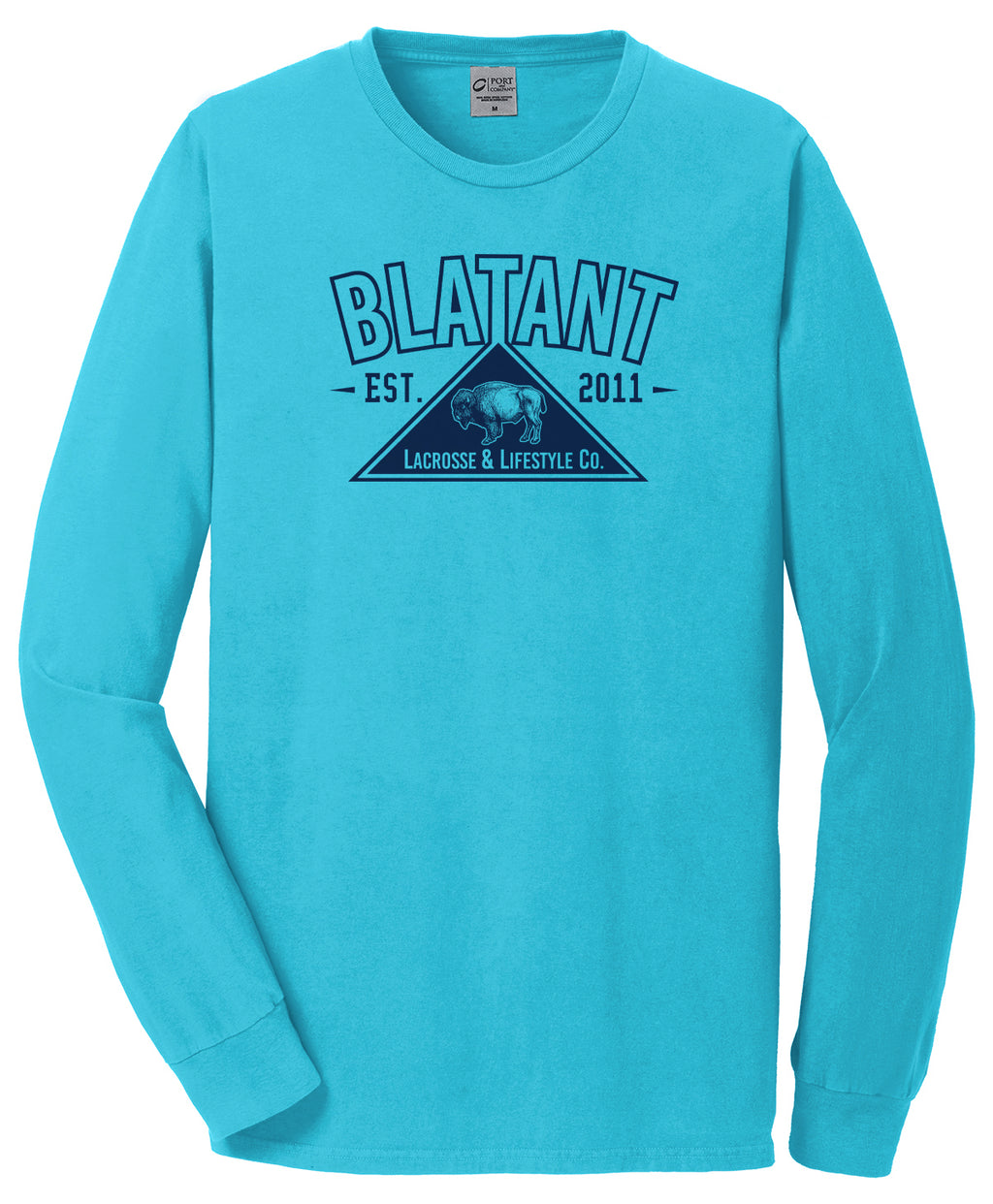 Blatant Lacrosse Buffalo Graphic Long Sleeve