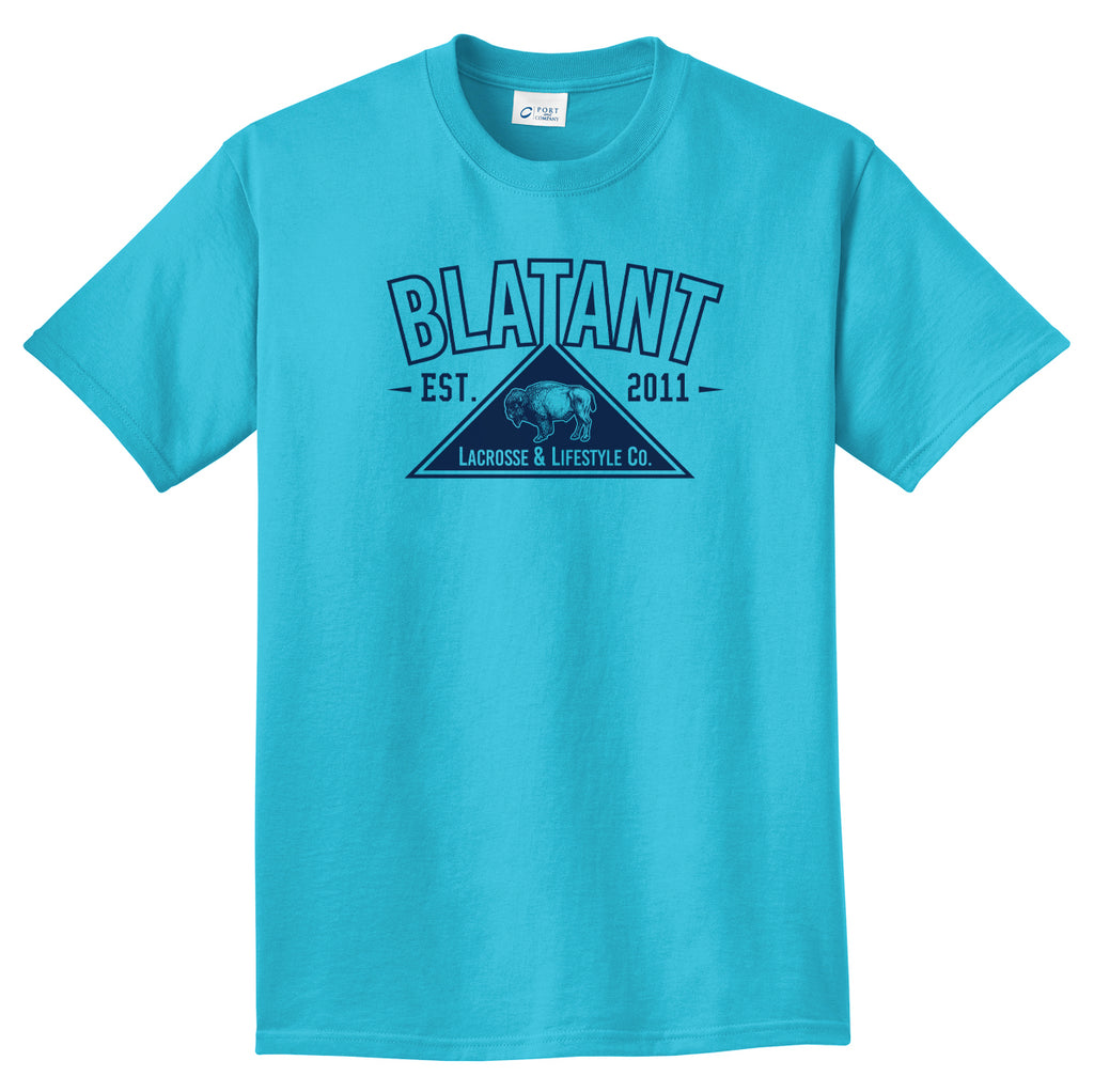 Blatant Lacrosse Buffalo Graphic Tee