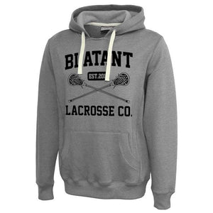 Blatant Lacrosse Est. 2011 Sweatshirt Hoodie: Heather Grey