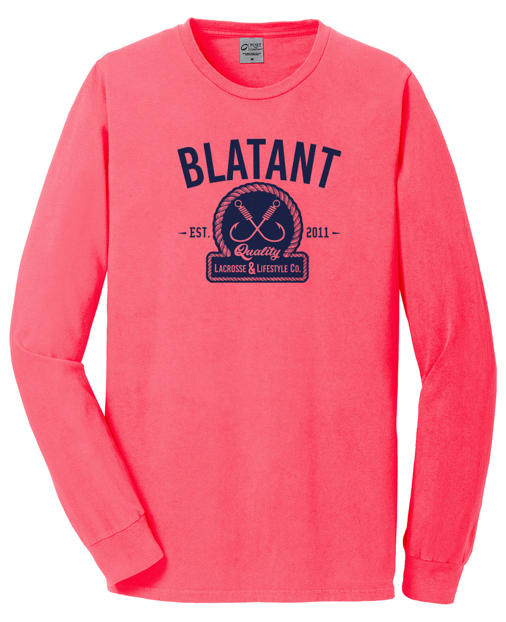 Blatant Lacrosse Captain Graphic Long Sleeve