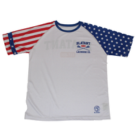 Blatant Lacrosse Stars and Stripes USA Lacrosse Shooting Shirt