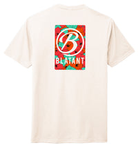 Blatant Lacrosse Aloha Graphic Tee: Orange