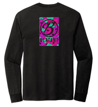 Blatant Lacrosse Aloha Graphic Long Sleeve: Purple