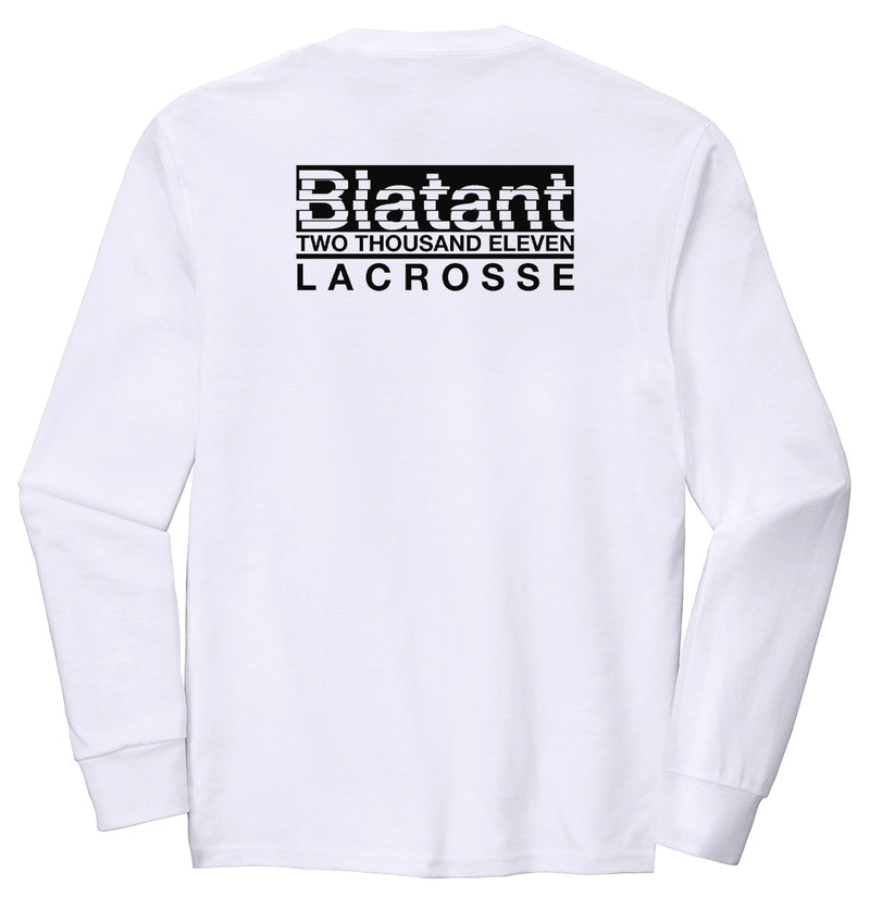 Blatant Lacrosse Decimate Graphic Long Sleeve: Black