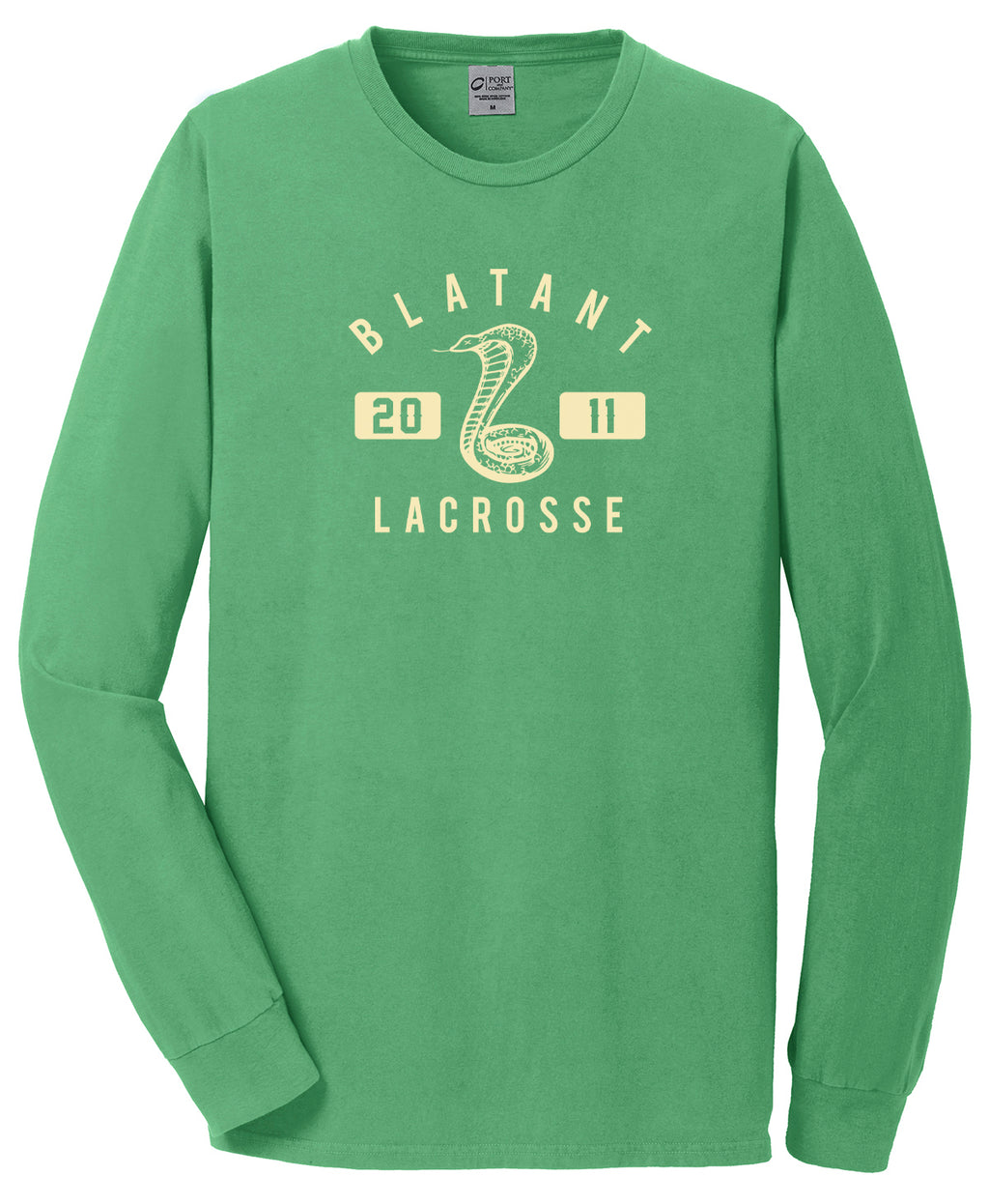 Blatant Lacrosse Cobra Graphic Long Sleeve