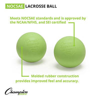 Champion Lacrosse Balls (Case 120) GREEN