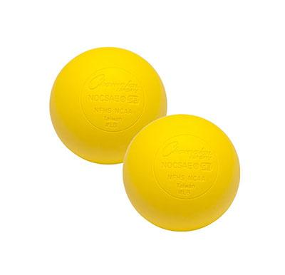 Champion Lacrosse Balls (Case 120) YELLOW