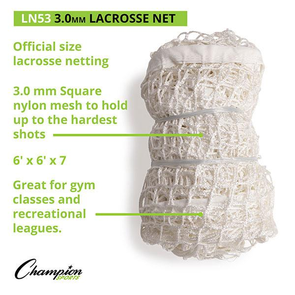 Lacrosse Replacement Net (3MM)