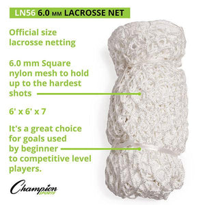 Lacrosse Replacement Net (6MM)