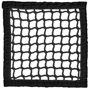 Lacrosse Replacement Net Weather-Treated (6MM) BLACK