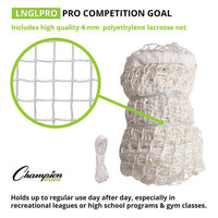 Pro Competition Lacrosse Goal