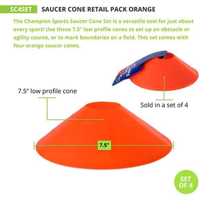 Saucer Field Cone Set of 4