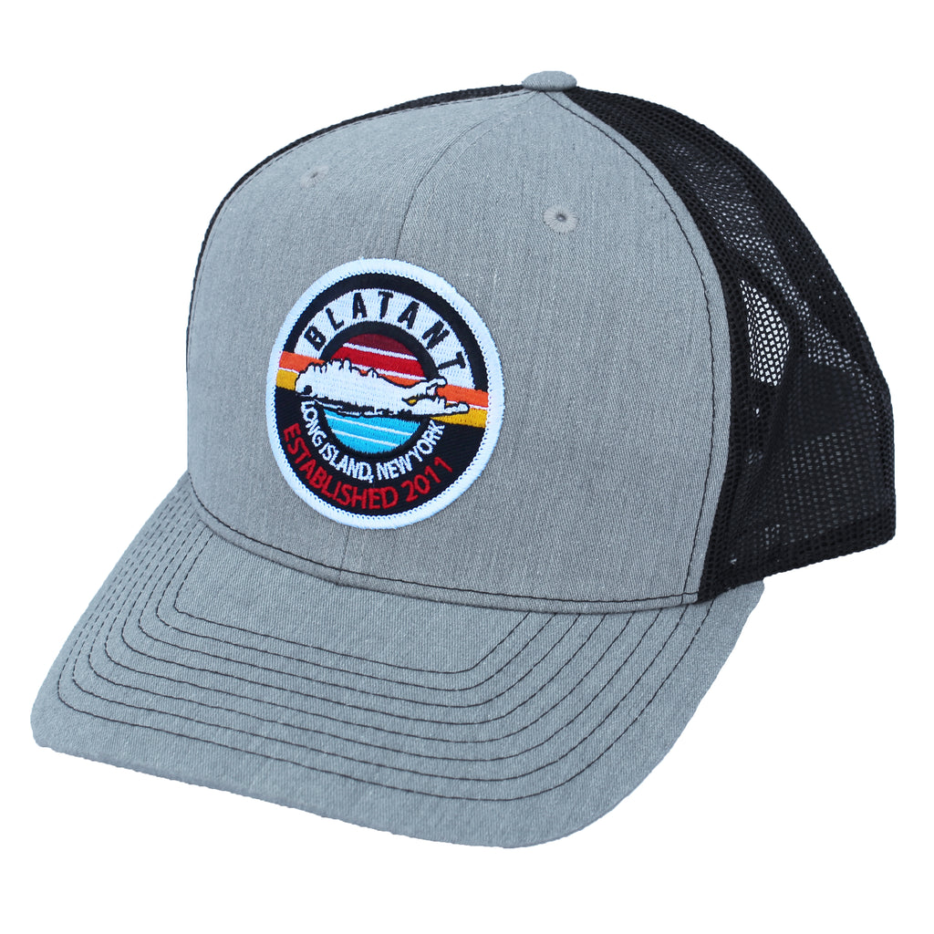 Blatant Lacrosse Sunset Trucker Hat