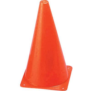 9 Inch Orange Cones (12 Pack)