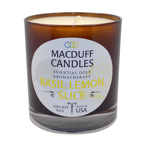 Macduff Candles - Basil & Lemon Slice