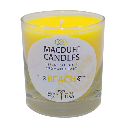 Macduff Candles ~ Beach