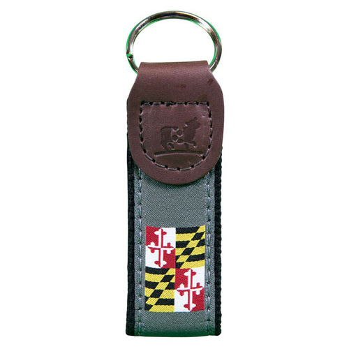 Belted Cow - Maryland State Flag Key Fob