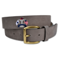 Belted Cow - Embroidered Montauk Nubuck Belt