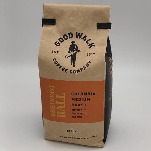 Good Walk Coffee - Breakfast Ball Colombia Medium Roast Coffee