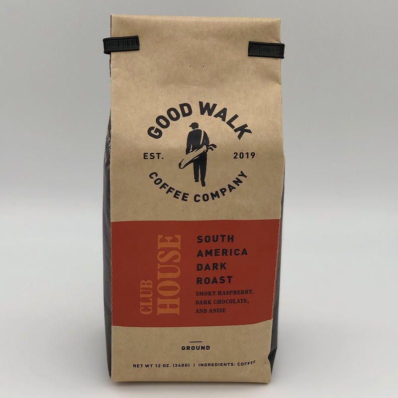 Good Walk Coffee - Clubhouse South America Dark Roast Coffee