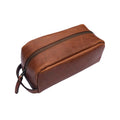 William & James - Leather Dopp Kit