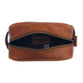 William & James - Leather Dopp Kit - inside