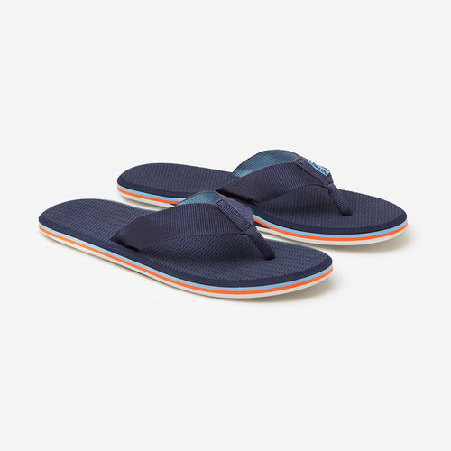 Hari Mari - Men's Dunes - Navy // Light Blue & Orange