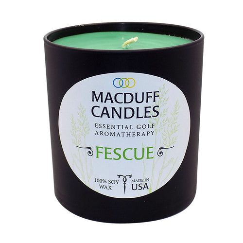 MacDuff Candles - Fescue - Black Glass