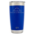 Simple|Modern + Folds of Honor - Cruiser Tumbler - 20 oz Twilight