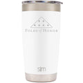 Simple|Modern + Folds of Honor - Cruiser Tumbler - 20 oz White