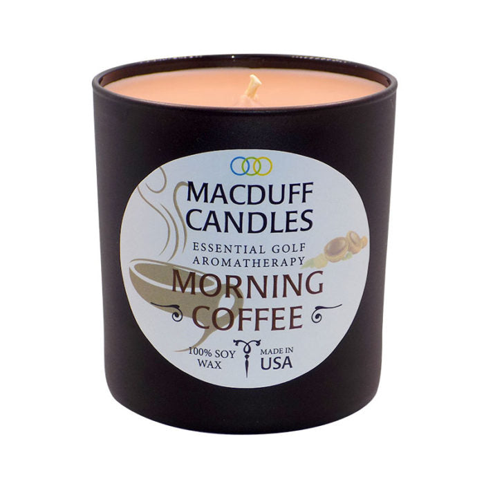 MacDuff Candles - Morning Coffee - Black Glass