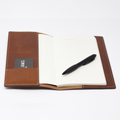 Williams & James - Leather Notebook Open View