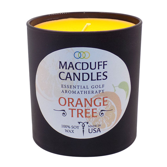 MacDuff Candles - Orange Tree - Black Glass