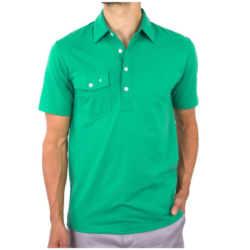 Criquet - Performance Players Shirt - Augusta Green