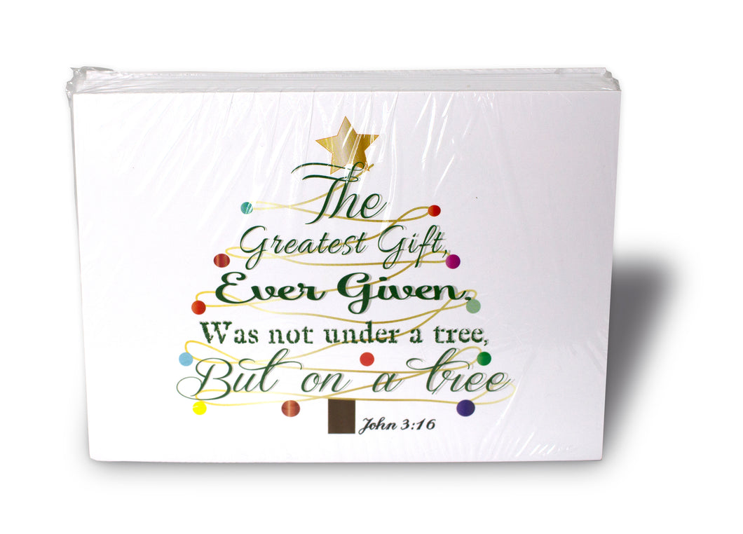 The Gift (John 3:16) Christmas Card Packet