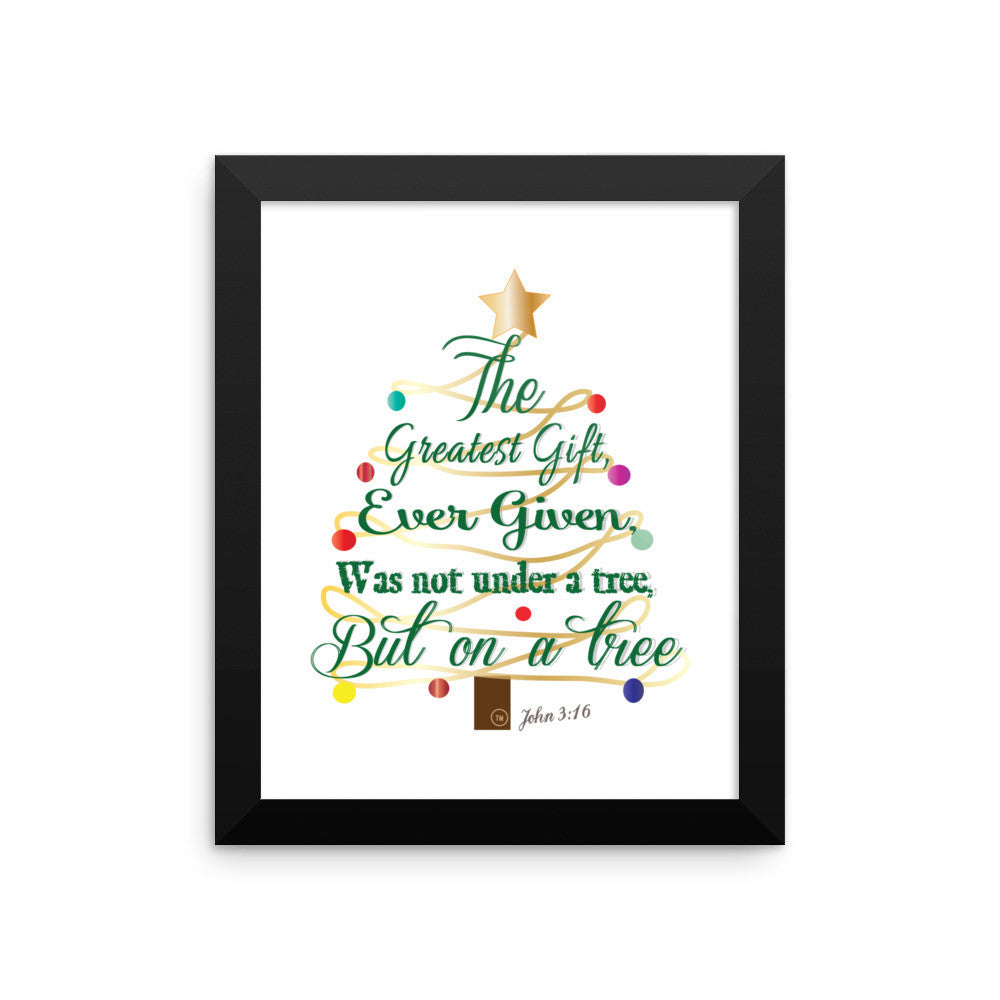 Framed poster - The Greatest Gift -