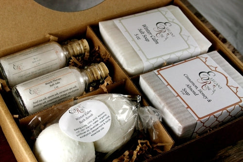 Pampering Gift Set - Mothers Day Gift, Gift for - The Soap Matrix