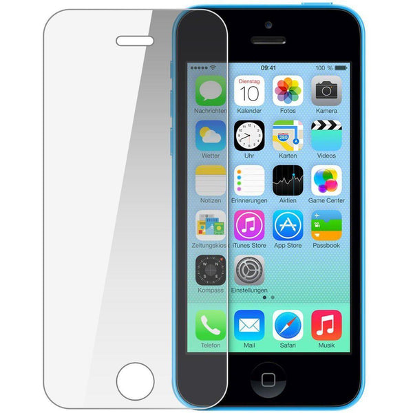 iPhone 5C Tempered Glass Screen Protector - 2 PACK