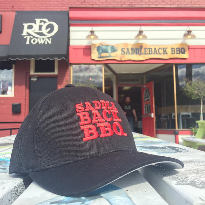 Saddleback BBQ Fitted Hats