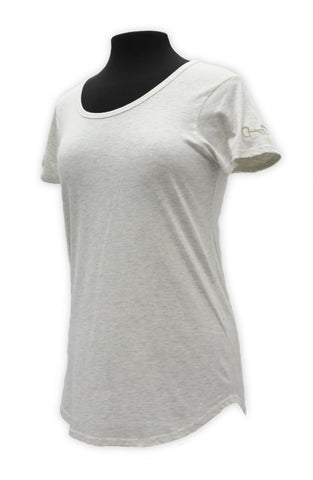 Horse bit Tee tan women's  tee shirt by KF Clothing
