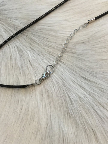 Necklace - Horse in rope circle