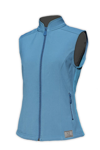 Soft shell vest teal by KF Clothing