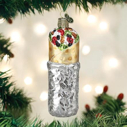 Burrito OW Ornament
