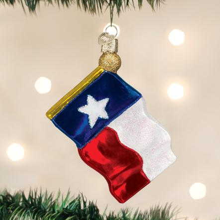 TX State Flag OW Ornament