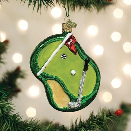 Putting Green OW Ornament