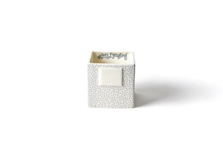 Stone Small Dot Mini Nesting Cube-Small